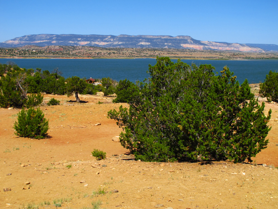 Photo of View from Overlook of Abiquiu Lake