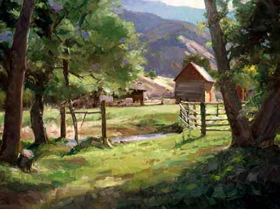 Springhill Morning by Howard Friedland