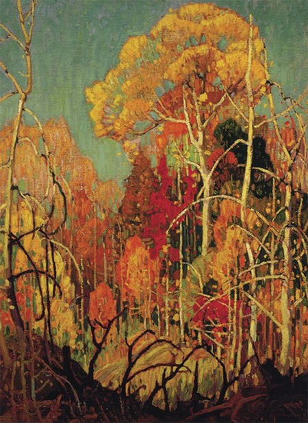 Autumn in Orilla, 1924, Franklin Carmichael