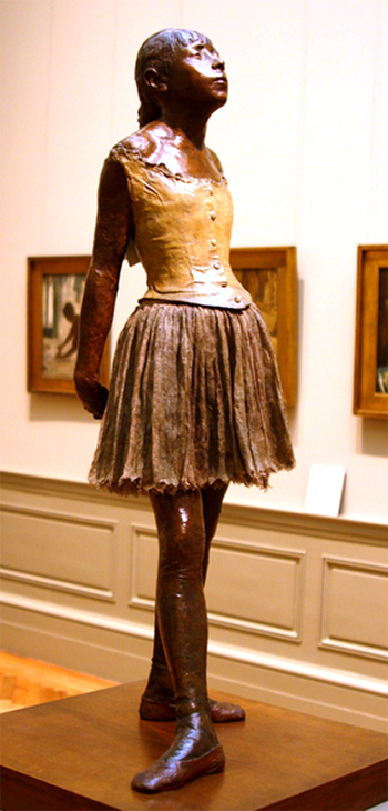 Little Dancer of Fourteen Years Sculpture by Degas