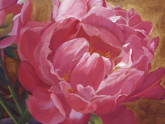 Ann Trusty peony painting demonstrations
