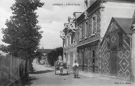Photograph of The Hotel Baudy, Giverny, France.