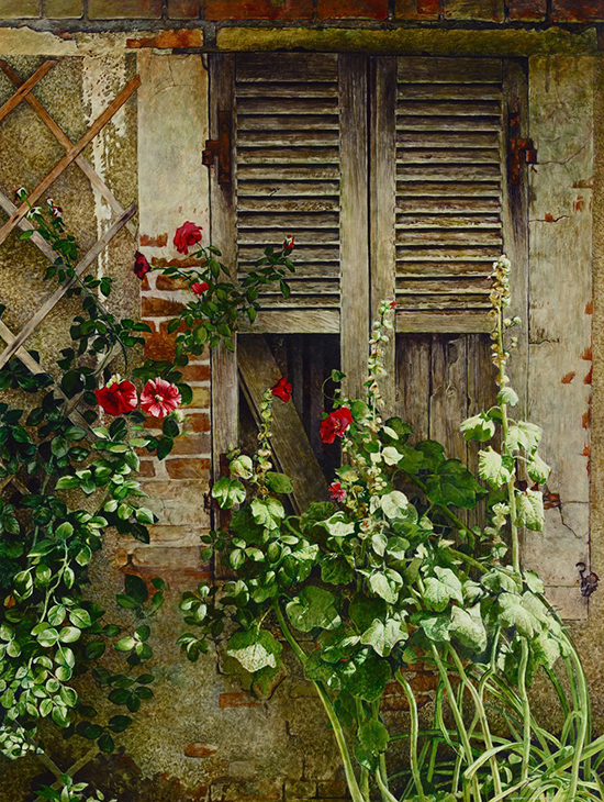 French Window Flowers © Stan Miller