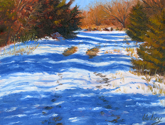 winter oil by John Hulsey