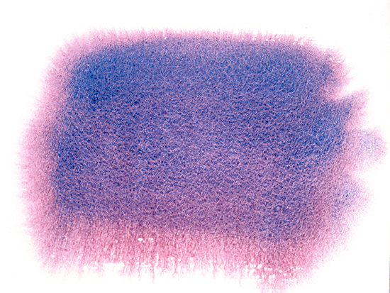 Granulation of watercolors