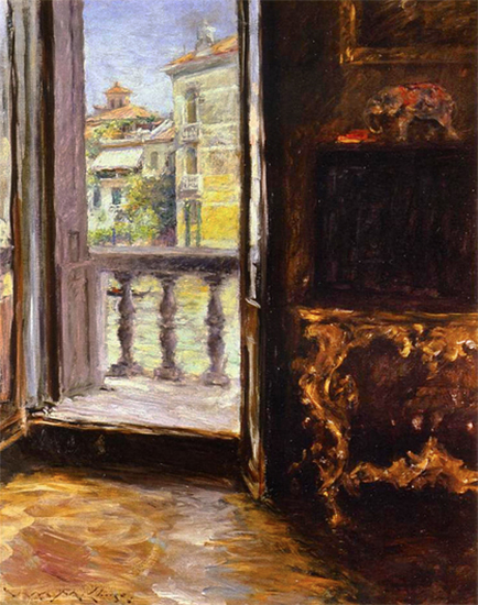 A Venetian Balcony, 1913, William Merritt Chase