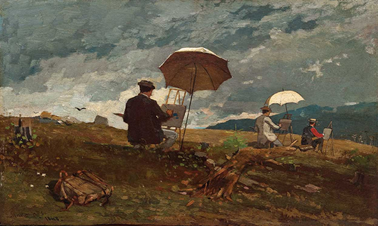 Oil Painting by Winslow Homer
