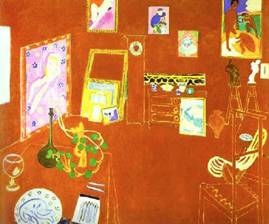 Atelier Rouge by Matisse