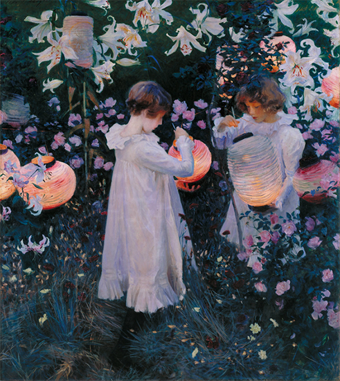 Carnation, Lily, Lily, Rose by John Singer Sargent
