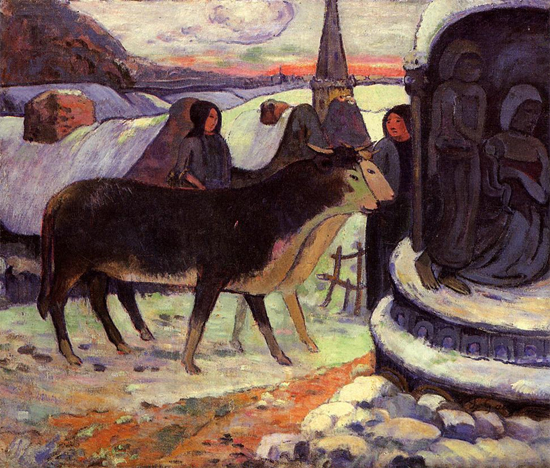 Christmas Night 1894 Paul Gauguin