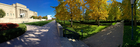 Photograph of the Nelson Atkins Museum © J. Hulsey
