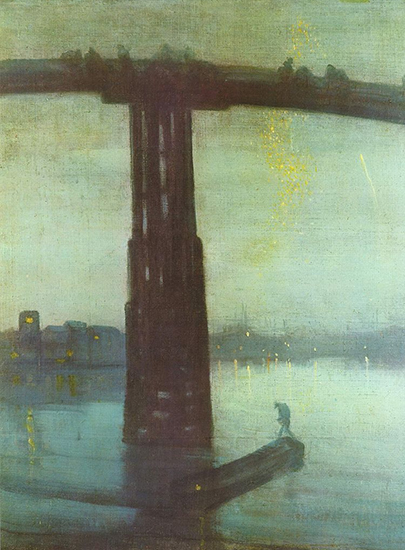 Nocturne in Blue and Gold by Whistler