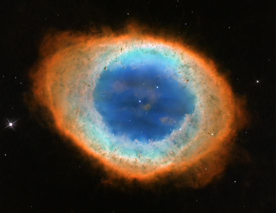 Ring Nebula Hubble Image