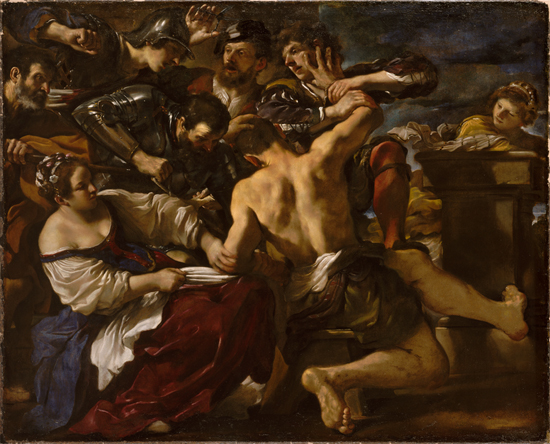 Samson Captured by the Philistines by Guercino
