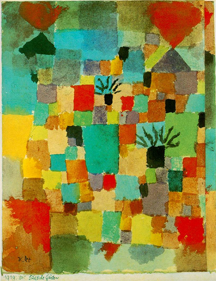 Southern Tunisian Gardens, Paul Klee, 1919