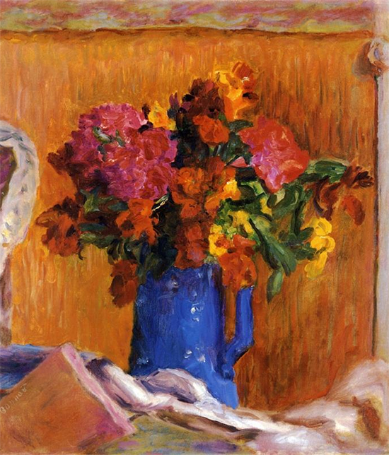The Blue Pot, PIerre Bonnard, (fair use)