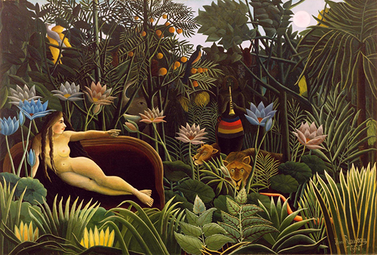 The Dream by Henri Rousseau 1910 PD