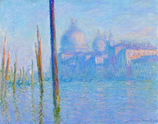 The Grand Canal, Venice, 1908, Claude Monet