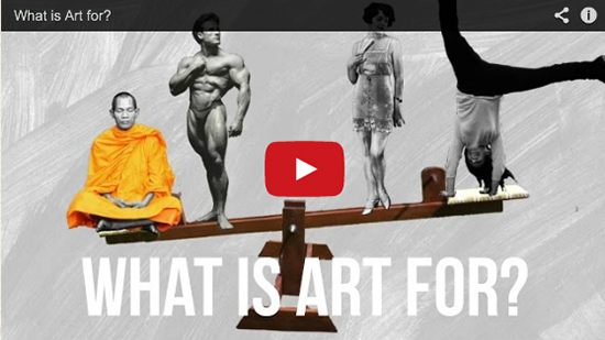 What is Art For Video by Alain de Botton