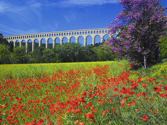 photo of Roquefavour Aqueduct, Provence. © by J. Hulsey