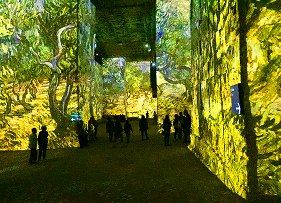 Carrieres de Lumieres II, photograph © J. Hulsey
